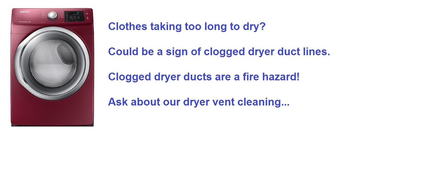 dryer vent cleaning in Central Florida - Orlando FL